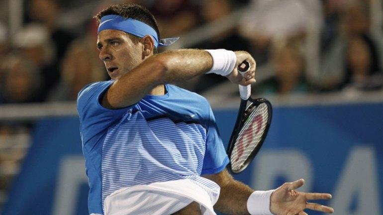 Del Potro está en semifinales y se enfrentará a Nadal