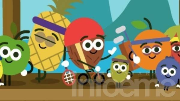 Los doodles de Google para disfrutar los Juegos Olímpicos