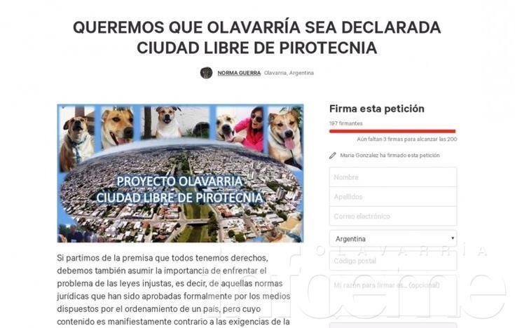 Olavarría ¿libre de pirotecnia?: el proyecto llega al debate de comisiones