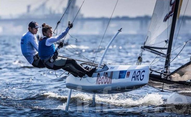 La segunda medalla de oro argentina para el Yachting
