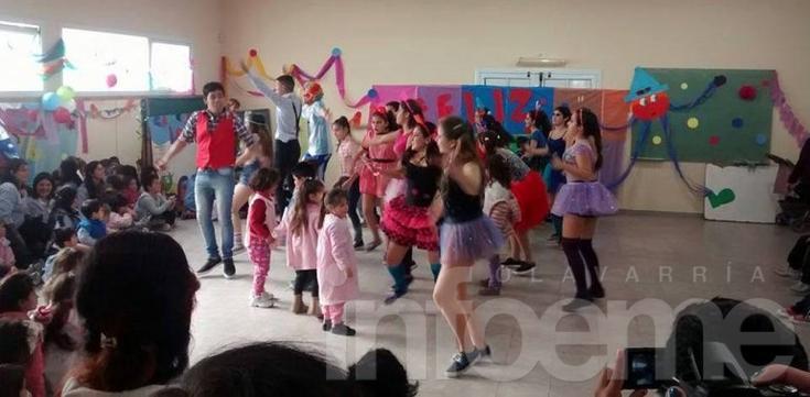 Festejaron el Día del Niño en el Servicio Territorial Nº 1