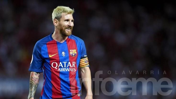 Video: así se ve Lionel Messi de rubio en el FIFA 17