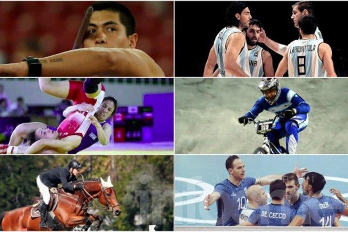 Los deportistas argentinos que buscarán trascender en Rio