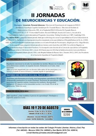 Jornadas de Neurociencias en Educación