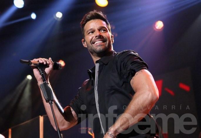Ricky Martin llega a la ciudad de Azul