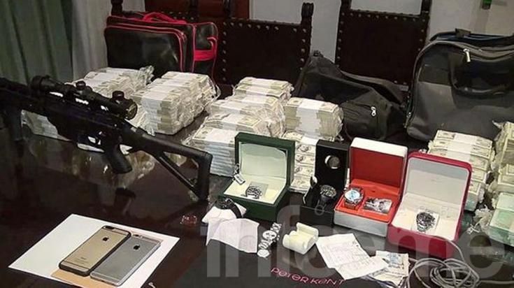 Trasladaron los millones de López al Banco Central