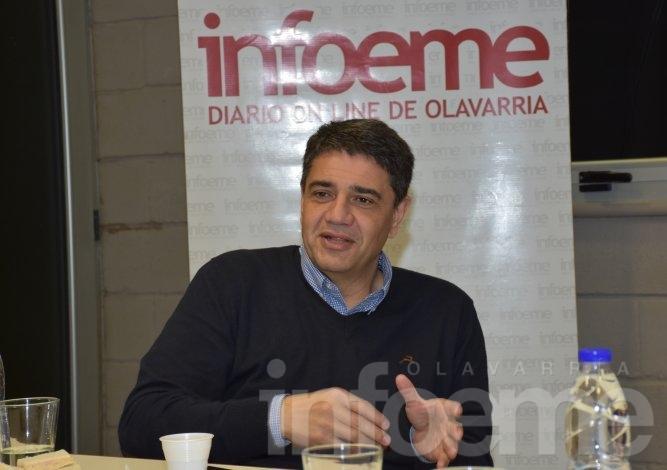 El Intendente Jorge Macri visitó Infoeme