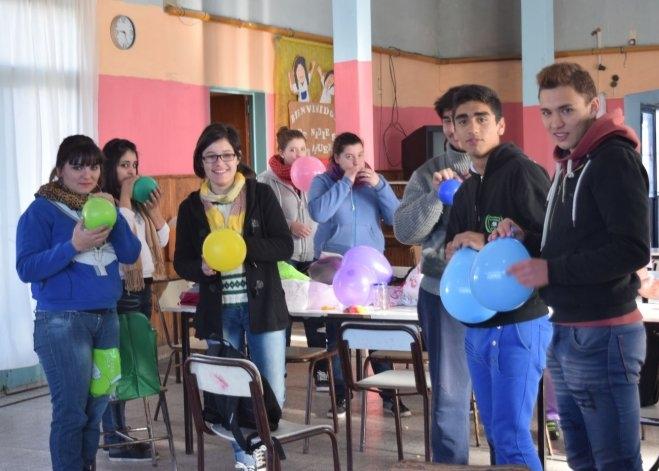Concejales Estudiantiles celebraron el día del niño en el CEC 802