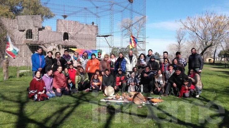 Se realizó la ceremonia de la Pachamama