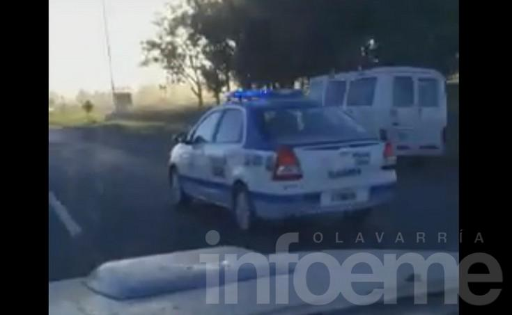 "Lector filmó a móvil policial a ""alta velocidad"""