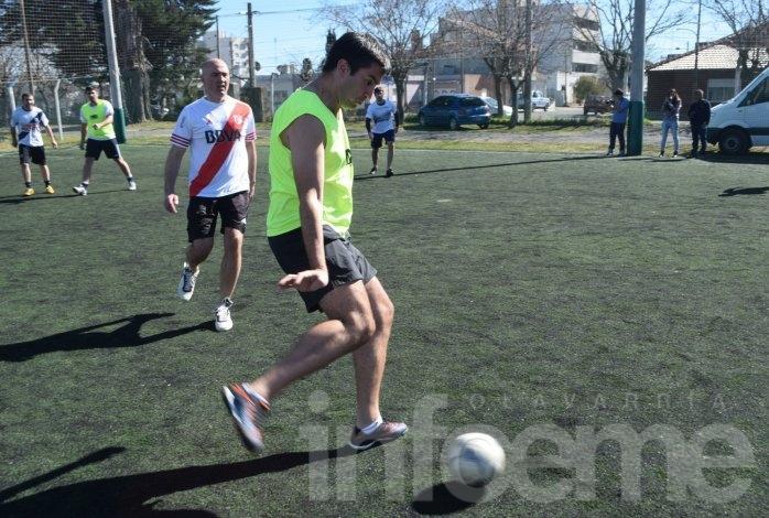 """El Diputado Mosca llegó a Olavarría con su gira """"Re Corriendo"""""""