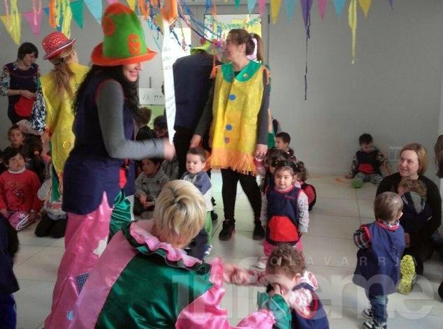 Maternales y Centros de Día celebraron el Día del Niño
