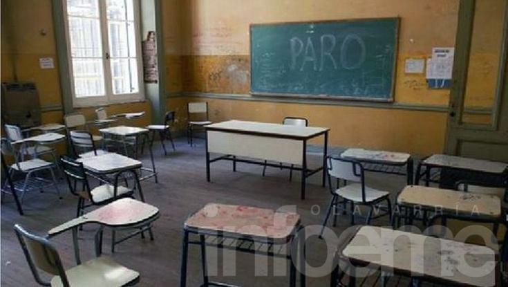 El paro docente alcanzó el 90% de adhesión
