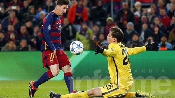 Messi, autor del mejor gol de la temporada en Europa