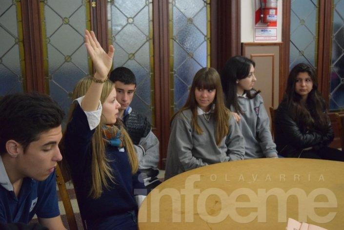 Se realizó la primera reunión de comisión del Concejo Estudiantil