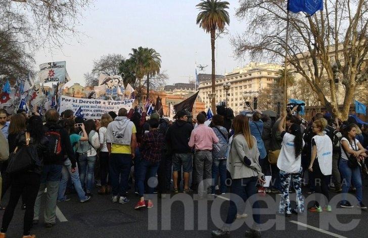 Hebe de Bonafini encabezó marcha contra el gobierno