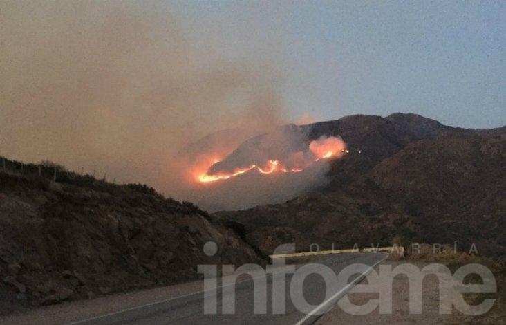 Incendio forestal en San Luis no da tregua
