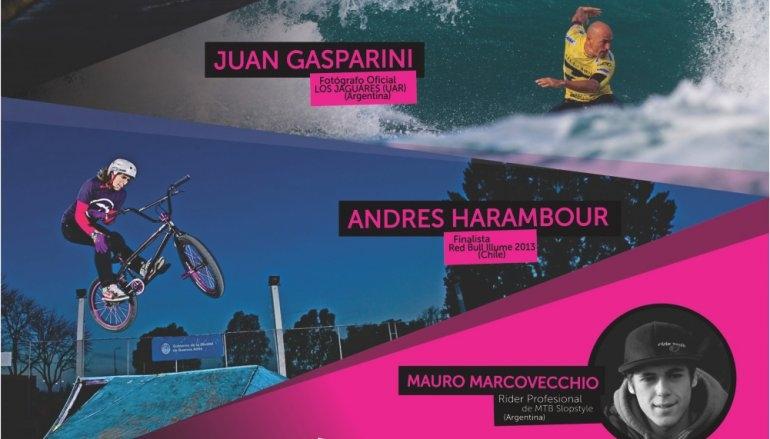 Por primera vez en Olavarría: Workshop internacional de fotografía deportiva