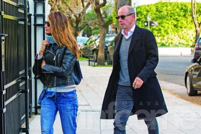 Bruno Barbier, ex de Awada se casa con Charlotte Barbotin-Larrieu