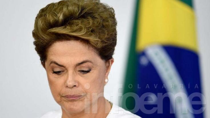 Destituyeron a Dilma Rousseff