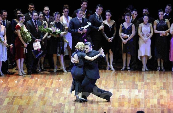 Una pareja argentina campeona del Mundial de Tango