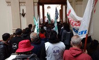 Movilización de judiciales a La Plata