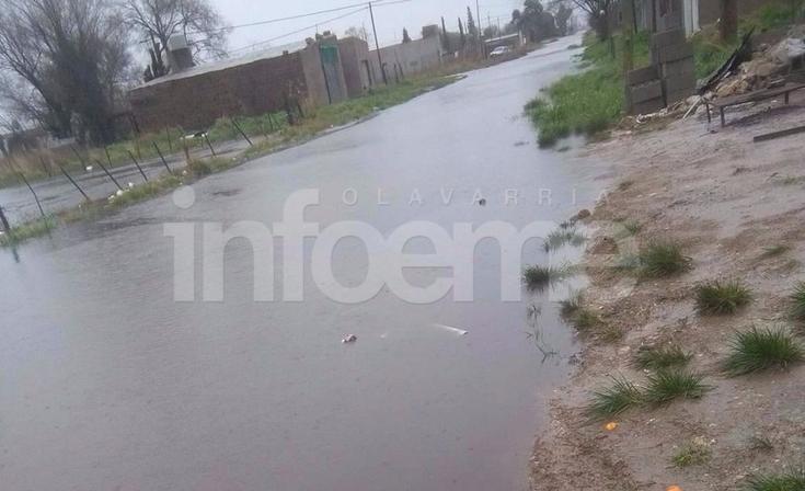 Una vez más, luego de intensas lluvias  surge el reclamo por calles anegadas