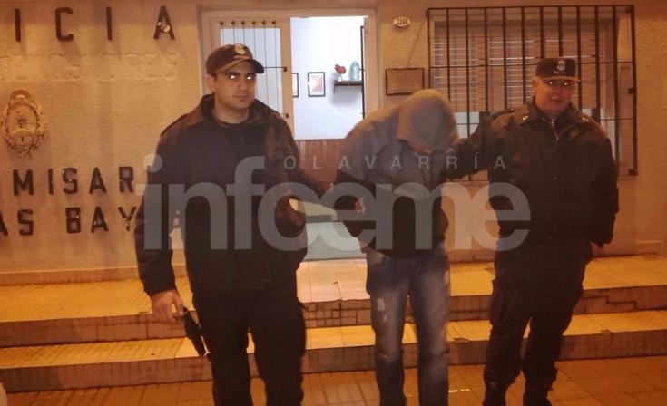 Lo atraparon mientras robaba una casa deshabitada por fallecimiento