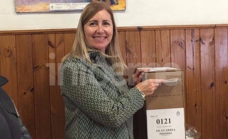 """Votó Liliana Schwindt: """"El verdadero partido se va a jugar en octubre"""""""