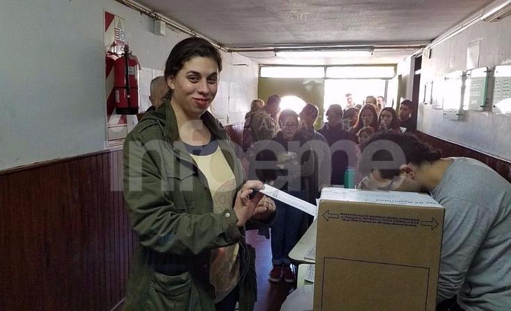"""Votó Almeida: """"Las expectativas se vienen cumpliendo"""""""