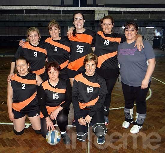 Se jugó Maxivoley B en Racing