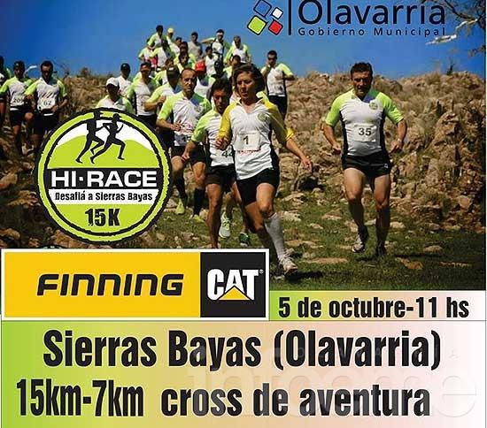 "Hi Race ""Desafiá a Sierras Bayas 2014"""