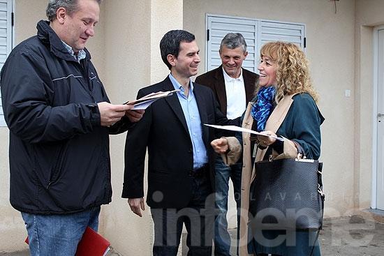 Se entregaron cuatro nuevas viviendas del Barrio Bancario III