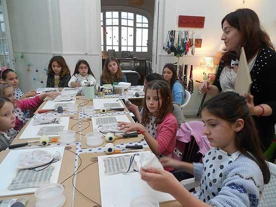 Vuelven los talleres de arte a Carmela