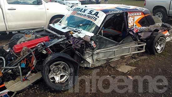 Fuerte golpe de Covatti en el autódromo: fue hospitalizado