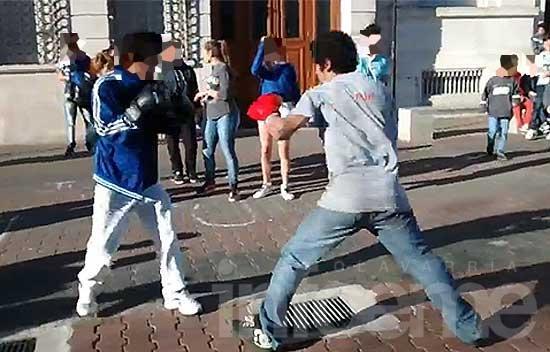 Boxeo callejero: una moda juvenil con mucho riesgo