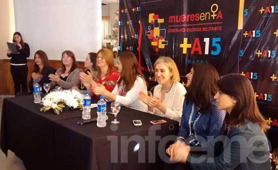 Mujeres en +A tuvo su encuentro en La Plata