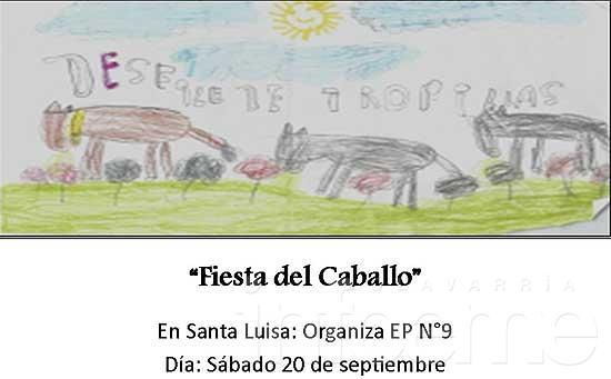 """Santa Luisa festeja la """"Fiesta del caballo"""" este sábado"""