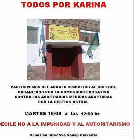 Fátima: alumno quemado en clase y conflicto institucional
