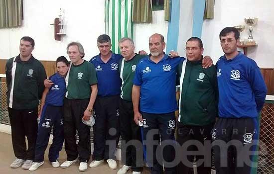 Pueblo Nuevo campeón del oficial de Trios Masculinos