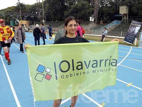 Ivana Farías, 203º en el Spartathlon en Grecia
