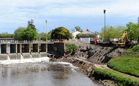 Más obras contra inundaciones
