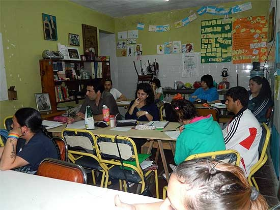 "Plan Fines en barrio ""La Loma"""