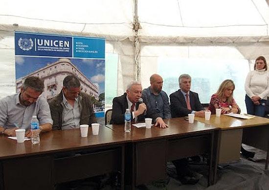 Monte Peloni: acto institucional y sesionó comisión de Diputados