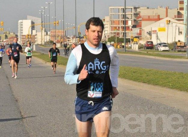 Pablo Grunewald fue doble campeón mundial en Mar del Plata