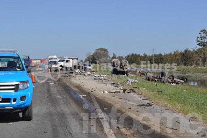 Accidente fatal en Ruta 3: Un muerto