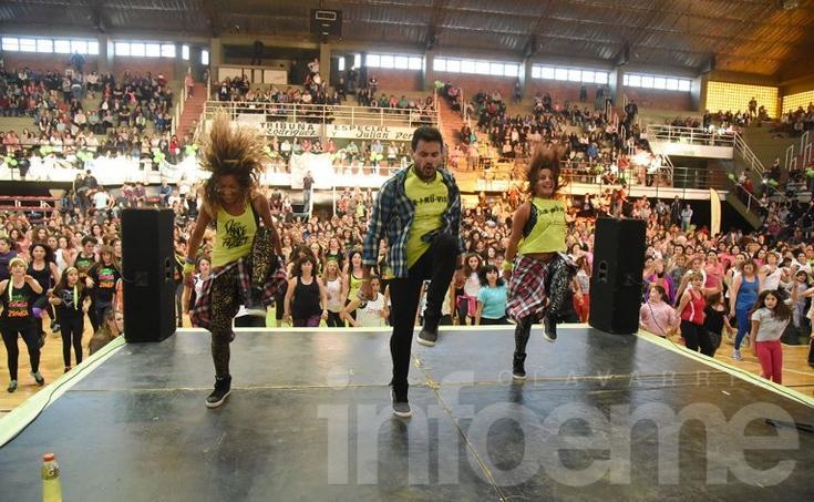 Más de 2 mil personas participaron de una nueva edición del Mami's Gym