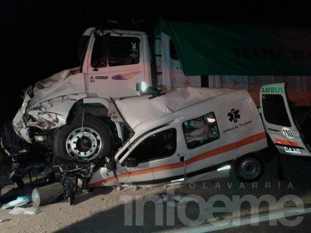 Un muerto en un choque en la Ruta 51