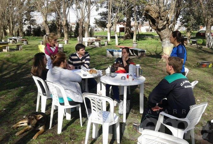 Galli se reunió con vecinos en Hinojo
