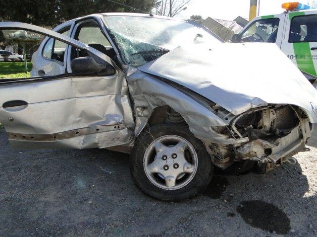 Accidente S. Bayas: ambos serán trasladados a Pigüe